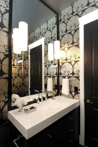 Room By Room Parlor Bathroom Which Mirror Lighting Tin