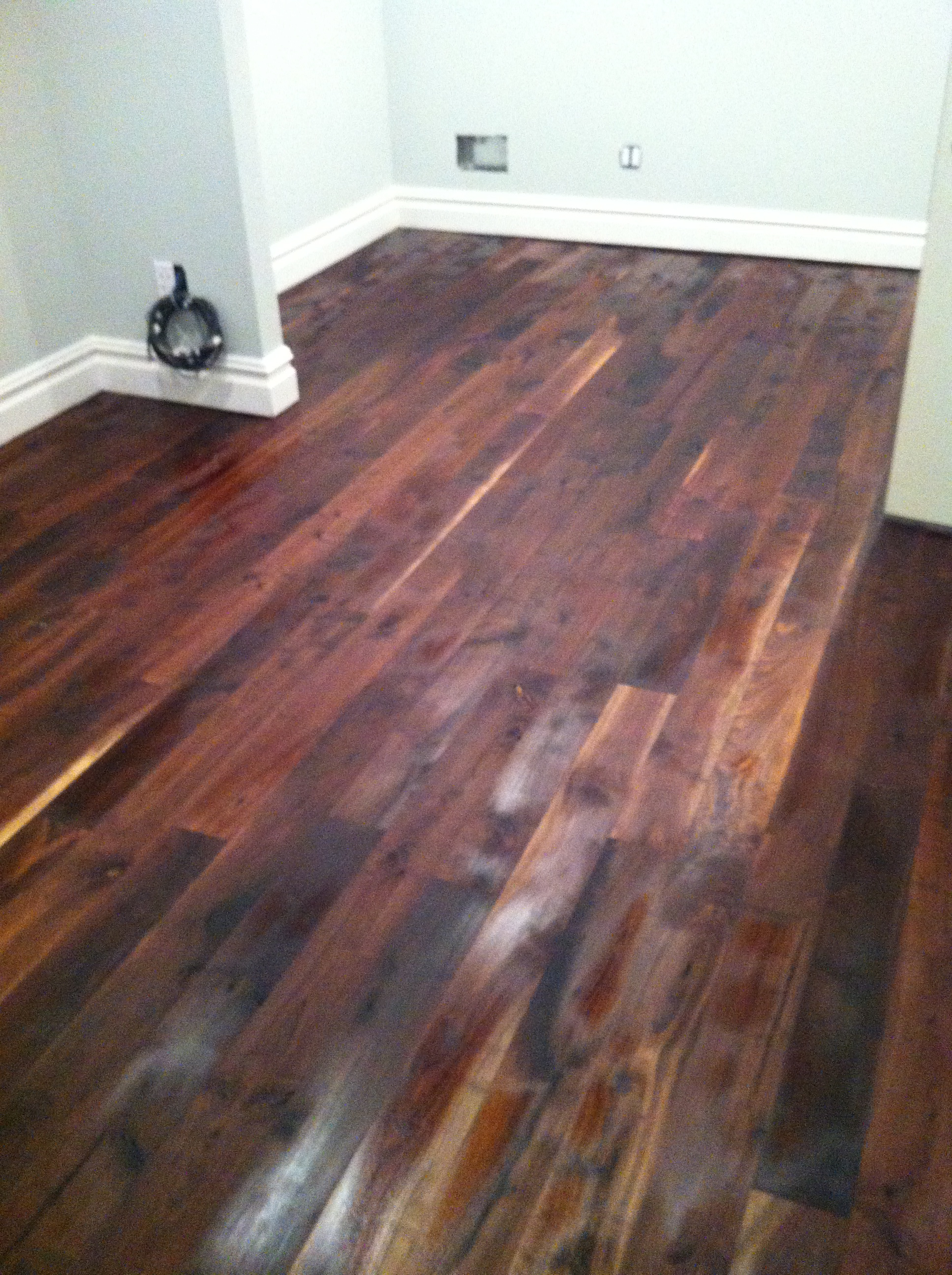 Experiences with finishing Walnut Floors