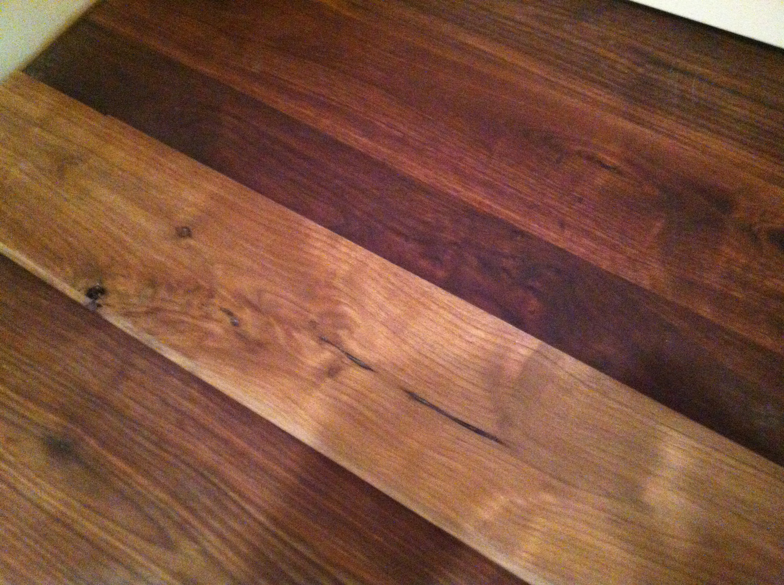 Is water based polyurethane vs oil based - Water Based Piece In The Middle Of A Piece Of Restored Flooring