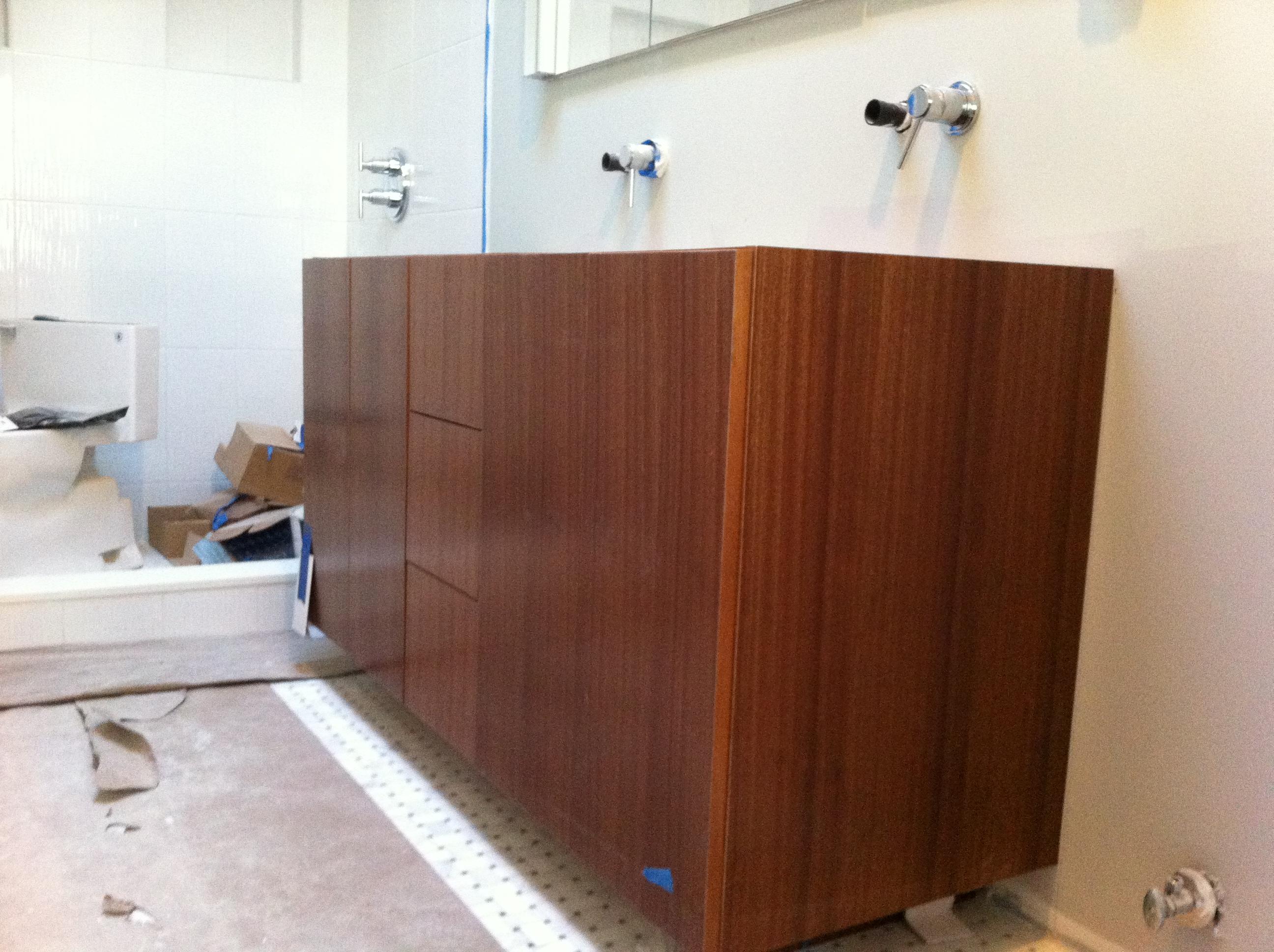 mahogany faced plywood