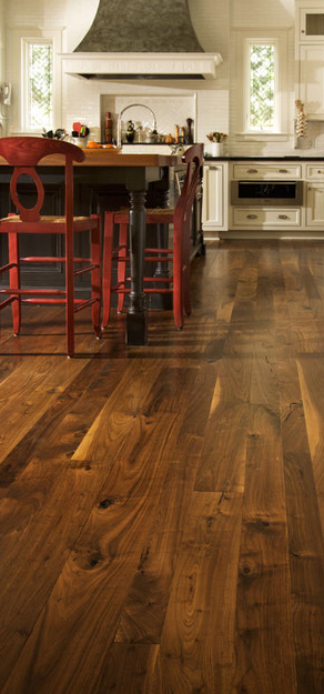 Experiences with finishing walnut floors wandernesting for Color of hardwood floors