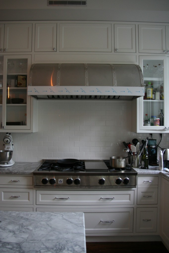 Our beautiful Modern Aire hood.