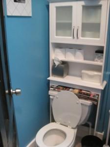 Upstairs bathroom before.