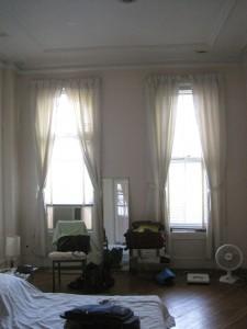 Master bedroom before.